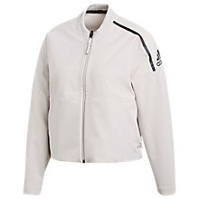 Buy adidas Zone Jacket, Chalk Pearl Online at johnlewis.com