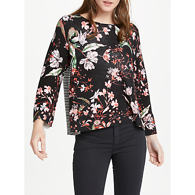 Product photo of Oui floral jumper multi