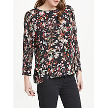 Buy Oui Floral Print Top, Multi Online at johnlewis.com