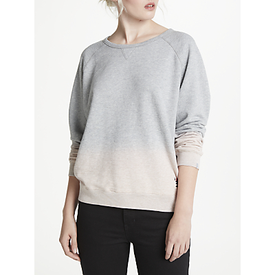 Maison Scotch Dip Dye Sweatshirt, Grey