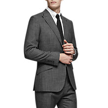 Buy Reiss Angel Wool 3 Piece Suit, Charcoal Online at johnlewis.com