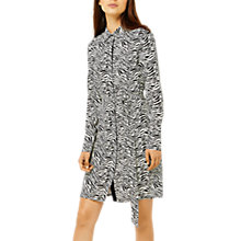 Buy Warehouse Zebra Print Shirt Dress, Multi Online at johnlewis.com