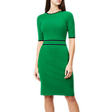 Buy Hobbs Naomi Tailored Dress, Apple Green Online at johnlewis.com