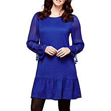 Buy Yumi Dropped Waist Tunic Dress, Cobalt Blue Online at johnlewis.com
