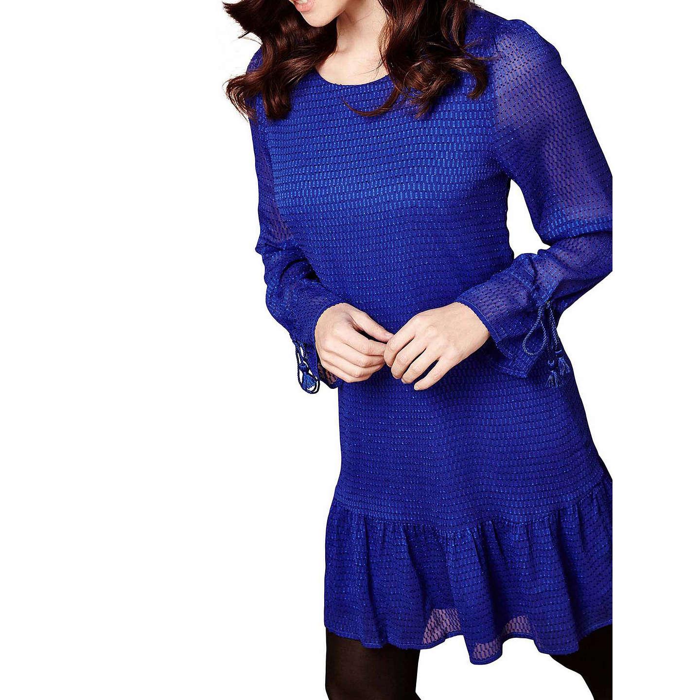 Yumi Dropped Waist Tunic Dress, Cobalt