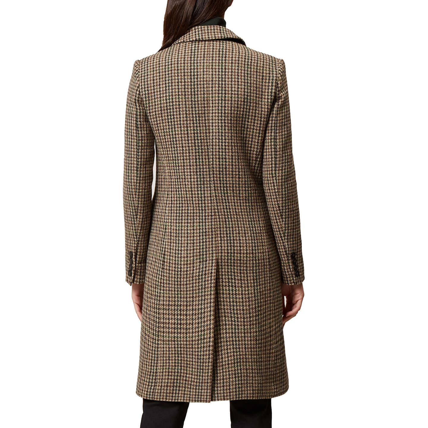 BuyHobbs Tilda Check Coat, Multi, 8 Online at johnlewis.com