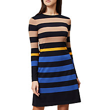 Buy Hobbs Evalina Knitted Dress, Multi Online at johnlewis.com