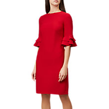 Buy Hobbs Frances Dress, Red Online at johnlewis.com
