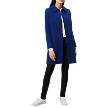 Buy Hobbs Carron Coat, Sapphire Blue Online at johnlewis.com