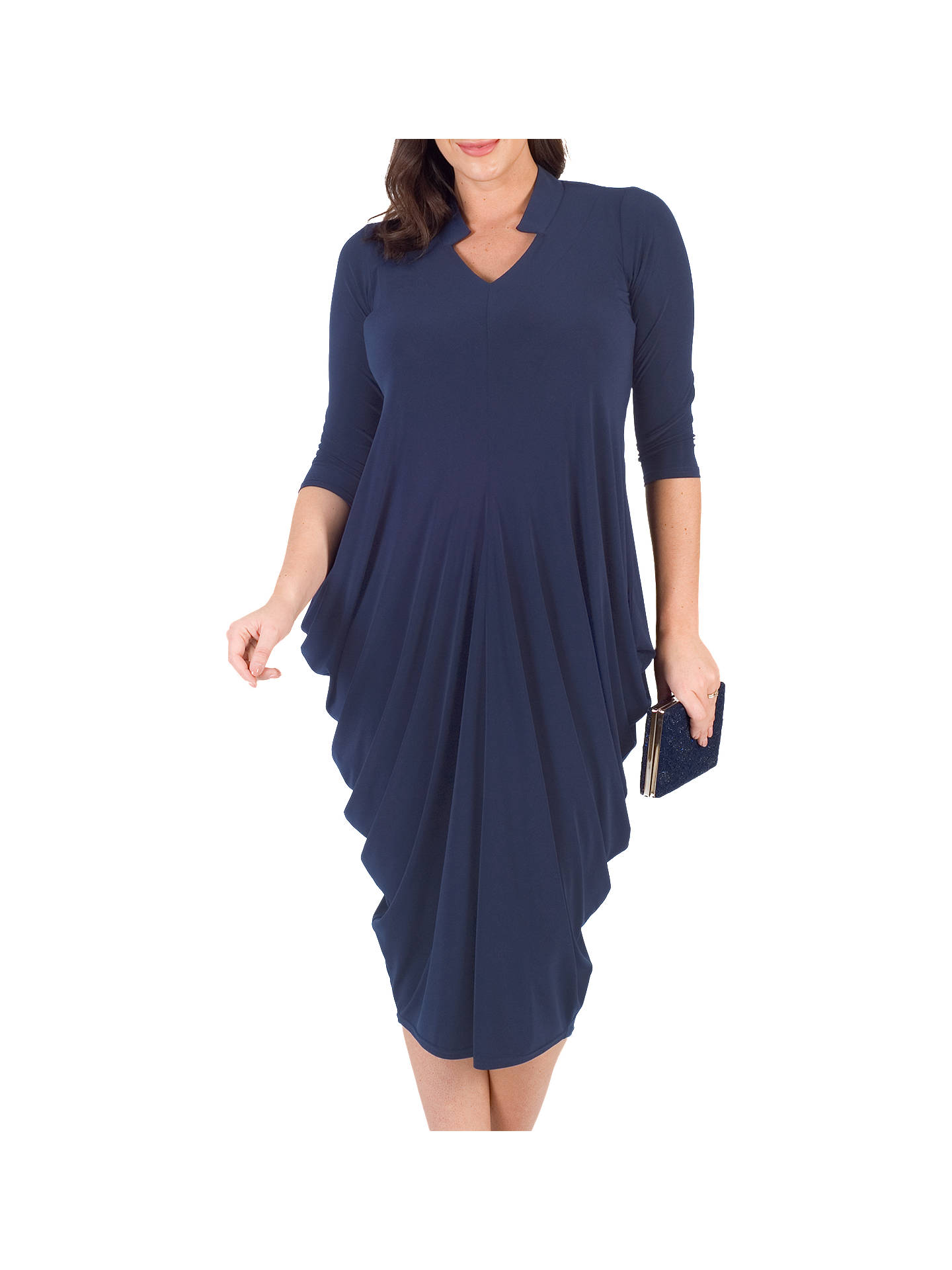 BuyChesca Notch Neck Jersey Dress, Riviera, 12-14 Online at johnlewis.com