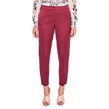 Buy Ted Baker Winny Fringe Insert Trousers Online at johnlewis.com