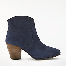 Buy Boden Boho Block Heeled Ankle Boots Online at johnlewis.com