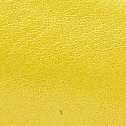 Mimosa Yellow Leather