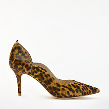 Buy Boden Madison Stiletto Heeled Court Shoes, Leopard Online at johnlewis.com