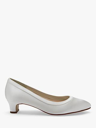 Rainbow Club Gisele Wide Fit Court Shoes, Ivory