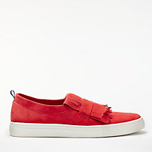 Buy Boden Rayna Fringed Slip On Trainers Online at johnlewis.com
