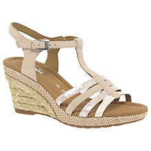Buy Gabor Jesmonde Wide Suede Wedge Heeled Sandals Online at johnlewis.com