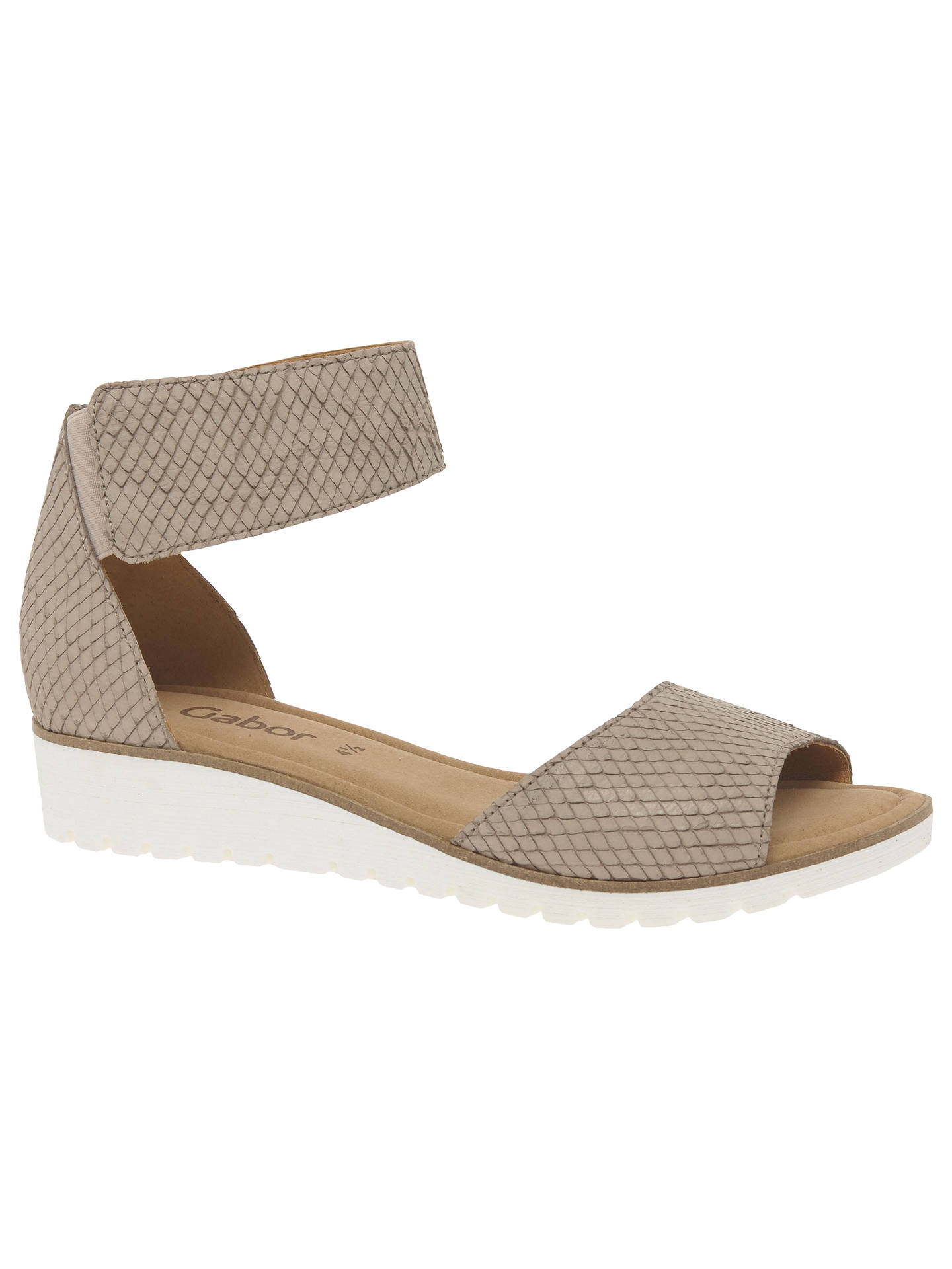 9a893051fd8f Buy Gabor Penny Wedge Heeled Sandals