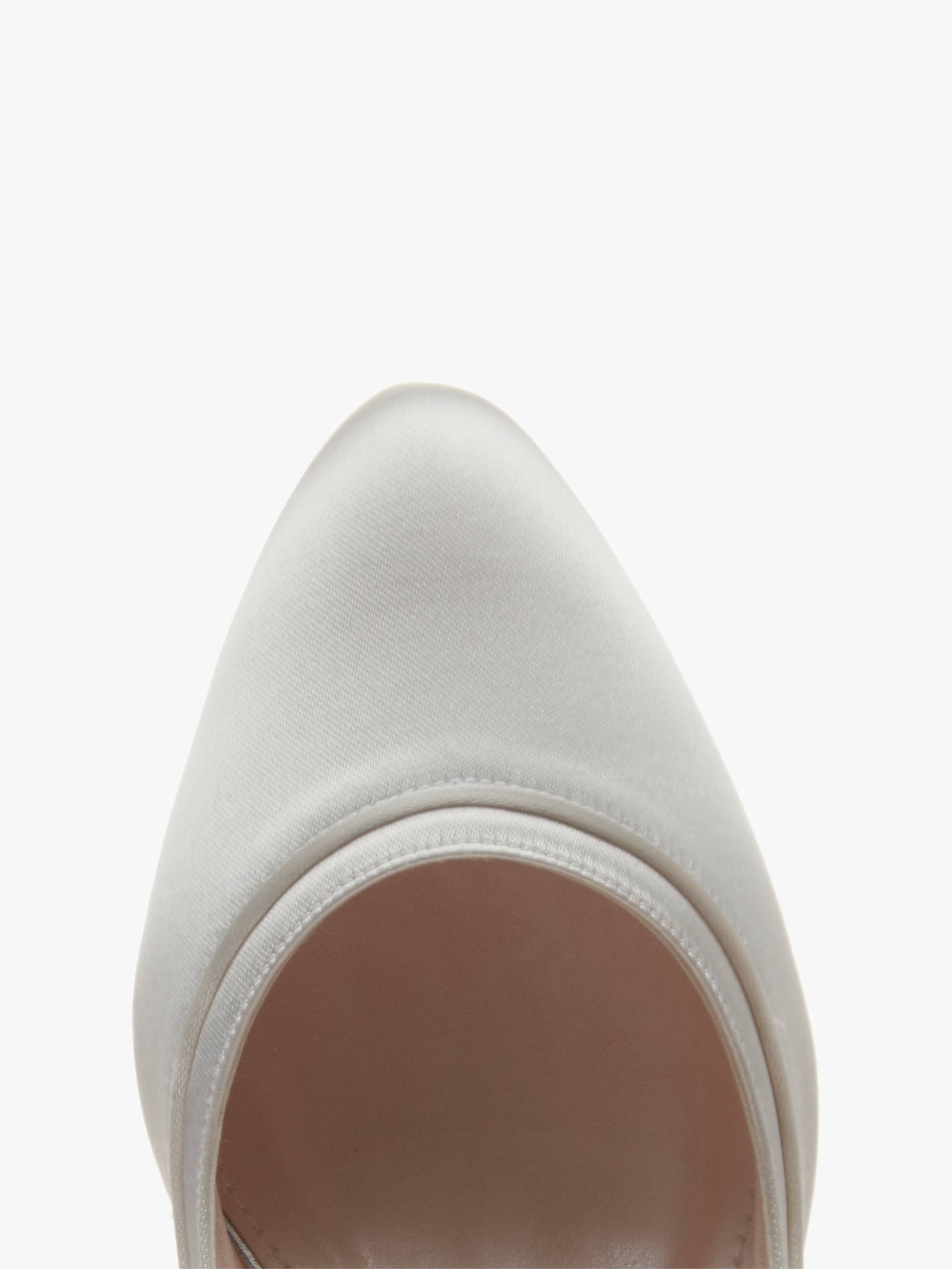 BuyRainbow Club Hollie Kitten Heel Court Shoes, Ivory, 3 Online at johnlewis.com