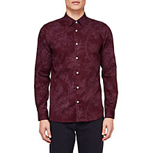 Buy Ted Baker Tulls Floral Printed Long Sleeve Shirt Online at johnlewis.com