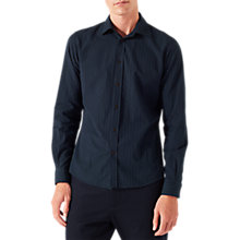 Buy Jigsaw Jacquard Stripe Cotton Shirt Online at johnlewis.com
