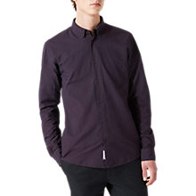 Buy Jigsaw Italian Slim Fit Ombre Dot Shirt Online at johnlewis.com