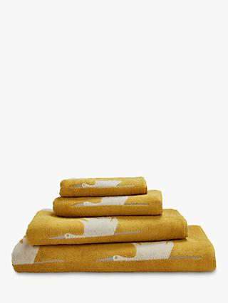 Scion Colin Crane Towels, Mustard