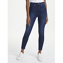 Buy 7 For All Mankind Aubrey Slim Illusion Jeans, Primary Blue Online at johnlewis.com