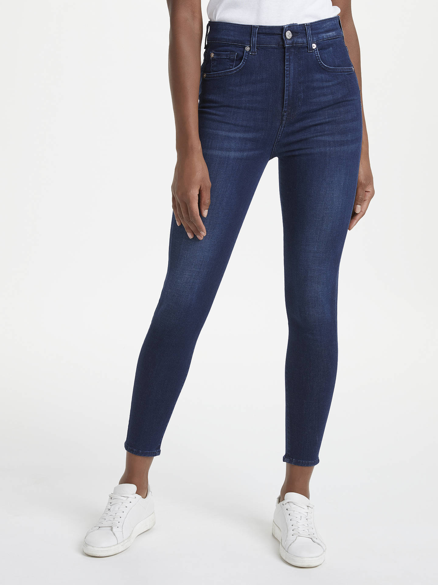 9fd455fedd7700 Buy 7 For All Mankind Aubrey Slim Illusion Jeans, Primary Blue, 27 Online  at ...