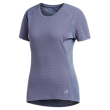 Buy adidas Supernova Short Sleeve Running Top, Raw Indigo Online at johnlewis.com