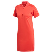 Buy adidas Zone Polo-Shirt, Trace Scarlett Online at johnlewis.com