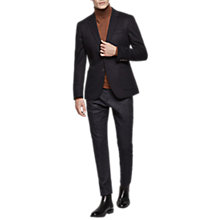 Buy Reiss Chump Slim Fit Wool Rich Blazer, Navy Online at johnlewis.com