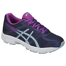 Buy Asics Children's Gel Contend 4 GS Laced Trainers, Purple/Multi Online at johnlewis.com