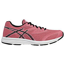 Buy Asics Children's Aplica GS Lace & Riptape Trainers, Pink Online at johnlewis.com