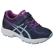Buy Asics Children's Gel Contend 4 PS Rip-Tape Trainers, Purple/Multi Online at johnlewis.com