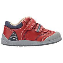 Buy Start-Rite Children's Tough Bug First Shoes, Red Online at johnlewis.com