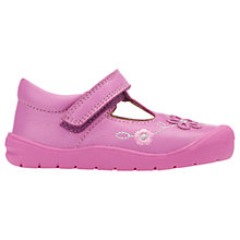 Buy Start-rite Children's Mia First Shoes, Pink Online at johnlewis.com