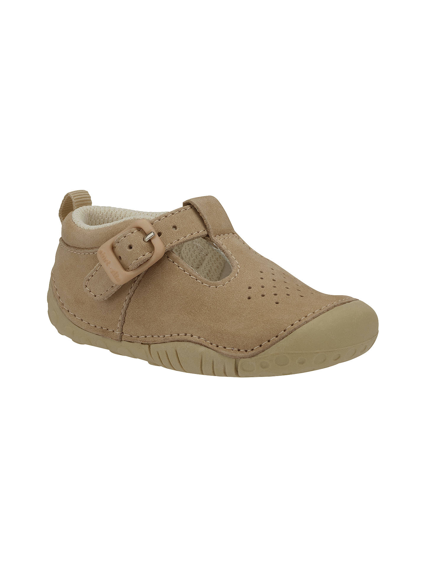 BuyStart-Rite Children's Baby Jack First Shoes, Brown, 2E Jnr Online at johnlewis.com