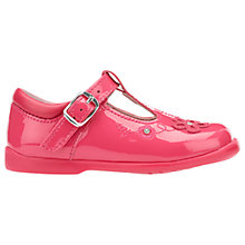 Buy Start-Rite Children's Sunflower Leather Rip-Tape Shoes, Pink Online at johnlewis.com