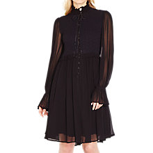 Buy Ghost Ebony Dress, Black Online at johnlewis.com