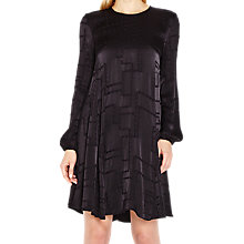 Buy Ghost Lucine Long Sleeve Dress, Black Online at johnlewis.com