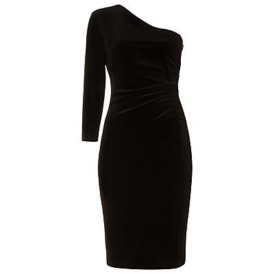 Damsel in a Dress Vali Velvet Fitted Dress, Black