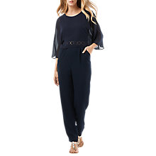 Buy Phase Eight Janessa Jumpsuit, Navy Online at johnlewis.com