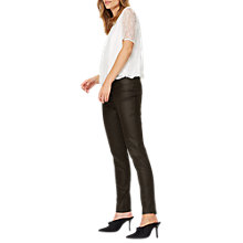 Buy Damsel in a dress Jude Coated Jeggings, Black Online at johnlewis.com