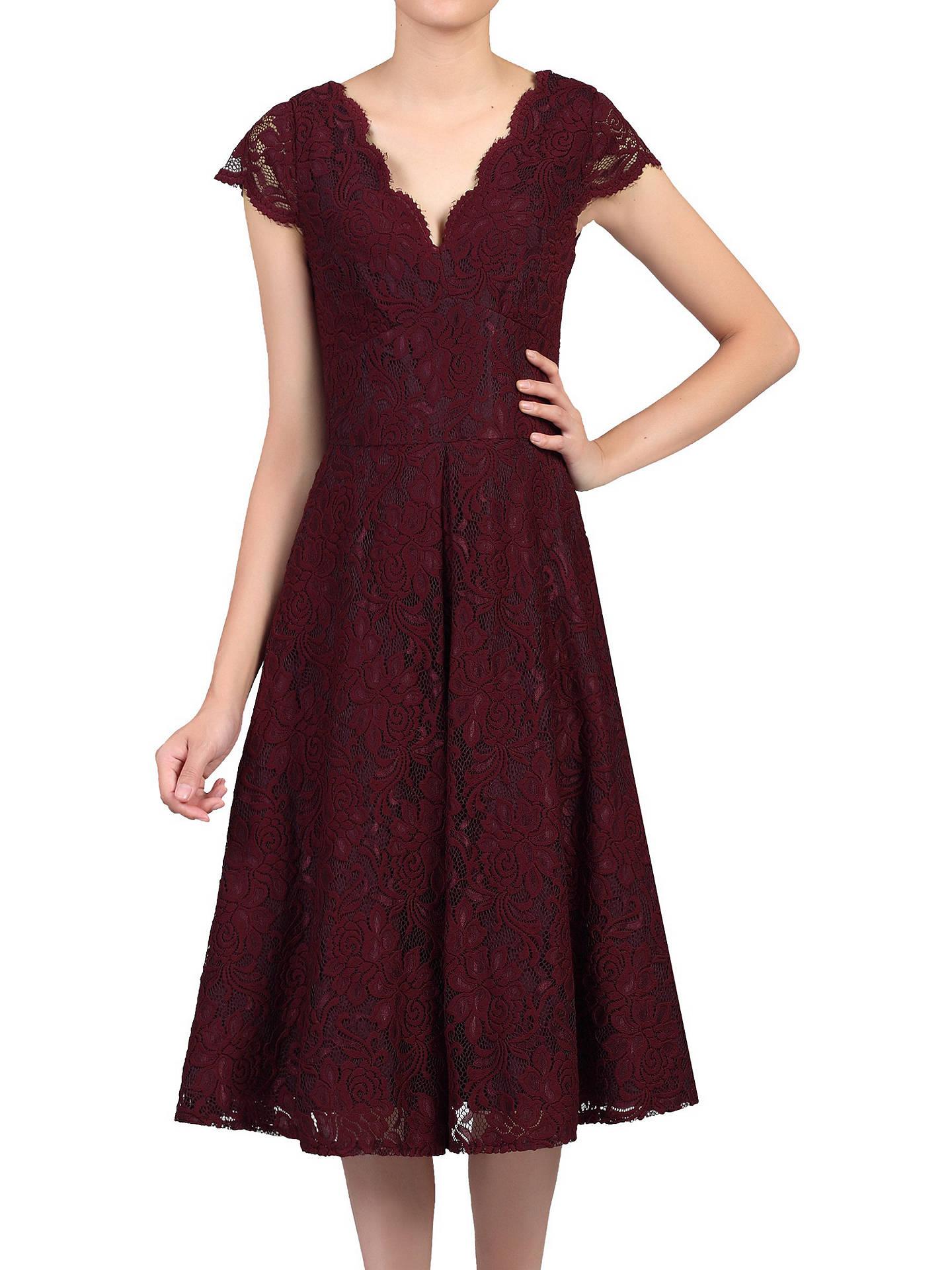 fdd5e47ddf2f Jolie Moi Cap Sleeve Lace Prom Dress at John Lewis   Partners