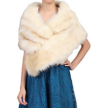 Buy Jolie Moi Faux Fur Shawl Wrap Online at johnlewis.com