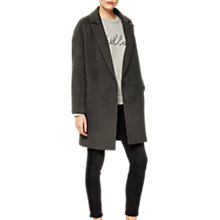 Buy Mint Velvet Luxe Relaxed Coat Online at johnlewis.com