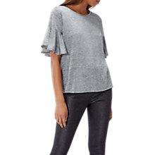 Buy Coast Tess Top, Grey Online at johnlewis.com