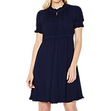 Buy Ghost Paola Dress, Navy Online at johnlewis.com