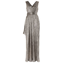 Buy Damsel in a dress Hazar Maxi Dress, Metallic Online at johnlewis.com